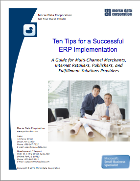10 Tips for a Successful ERP Implemenation