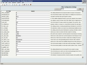 InOrder ERP Configuration Settings