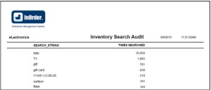 InOrder Inventory Search Audit Report