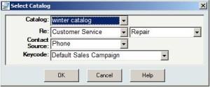 Select Catalog