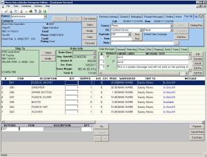 Edit ERP Order