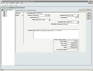 InOrder ERP Royalty Contract